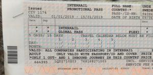 Interrailbiljetter Maria Unde Westerberg