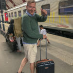 Ulf på väg mot Berlin, foto Maria Unde Westerberg
