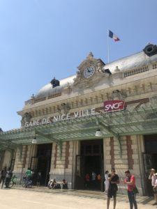 Gare de Nice, foto Maria Unde Westerberg