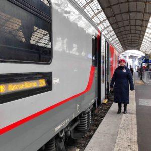 Halvtio-tåget Nice till Moskva