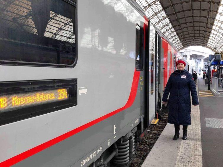 Halvtio-tåget till Moskva eller Tende?