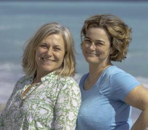 Maria Unde Westerberg och Kristina Svensson, författare till resehandboken Rivieran inom räckhåll