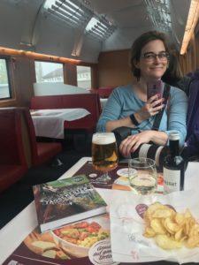Kristina i restaurangvagn