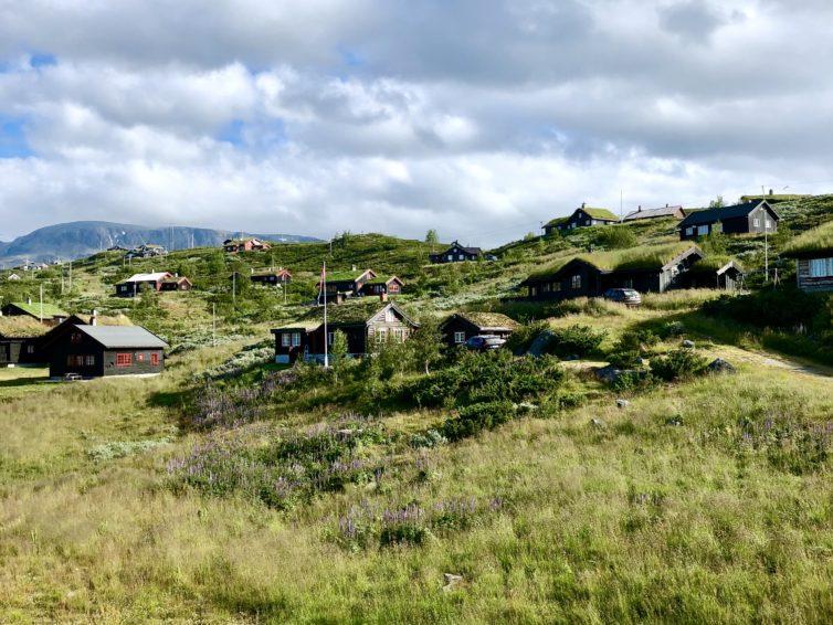 Längs rallarvegen på Hardangervidda