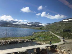 Rallarvegen och Hardangerjökulen Maria Unde Westerberg
