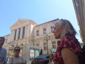 Stadsvandring i Nice vid Place de la Justice Maria Unde Westerberg
