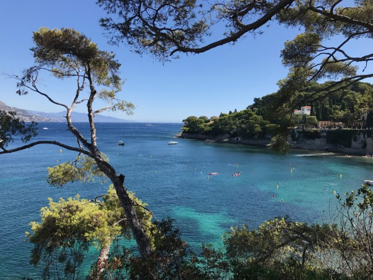 Nytt på Hallins reseblogg: Bästa baden på Rivieran