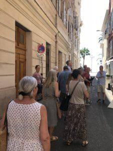 Stadsvandring i Nice Maria Unde Westerberg