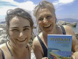 Kristina och Maria på Isle St Marguerite, foto Kristina Svensson