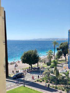 Bästa utsikten i Nice foto Maria Unde Westerberg