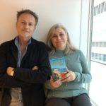 Per J Andersson och Maria Unde Westerberg samtalar om tåg i Vagabonds resepodd