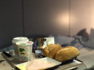 Nattågsfrukost foto Maria Unde Westerberg