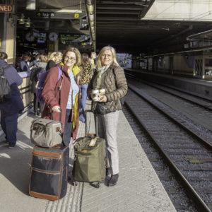 Avfärd Maria Unde Westerberg och Kristina Svensson, Rivieran inom räckhåll