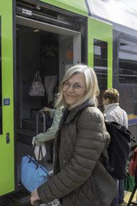 Maria Unde Westerberg går ombord med Rivieran inom räckhåll