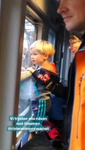 Med näsan mot fönstren foto Maria Unde Westerberg