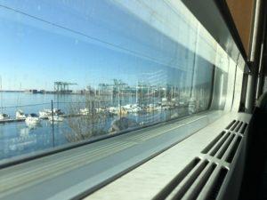 Genua från tåget Maria Unde Westerberg