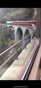 Bro längs Bernina express foto Maria Unde Westerberg
