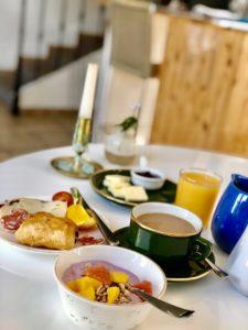 Frukost på Hotel du Soleil foto Maria Unde Westerberg