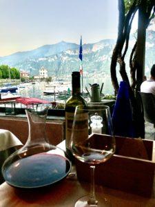 Middag på La Pergola i Bellagio foto Maria Unde Westerberg