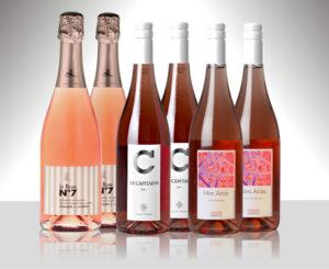 6 flaskor rose Escapat magazine