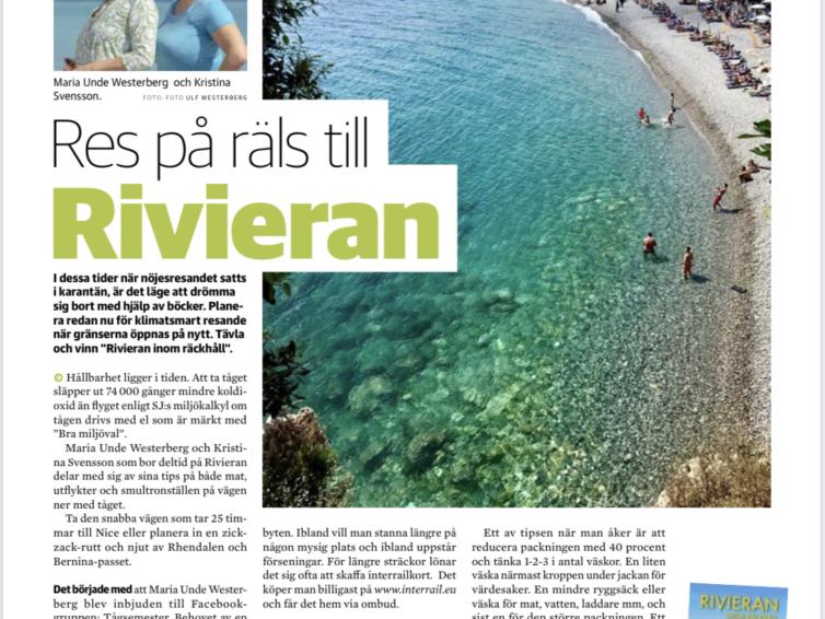 Vinn boken Rivieran inom räckhåll!