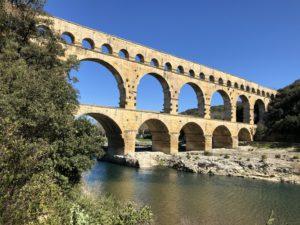 Pont du Gard liggande foto Maria Unde Westerberg