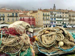 Nät och fiskeredskap i Sète