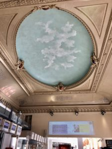 I taket på Gare de Nice Ville foto Maria Unde Westerberg