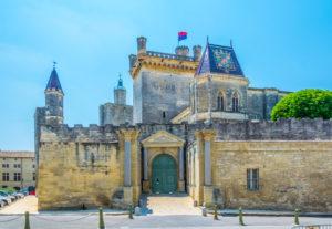 Chateau duDuché i Uzès