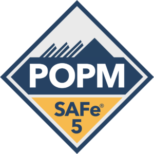 SAFe certifiering badge