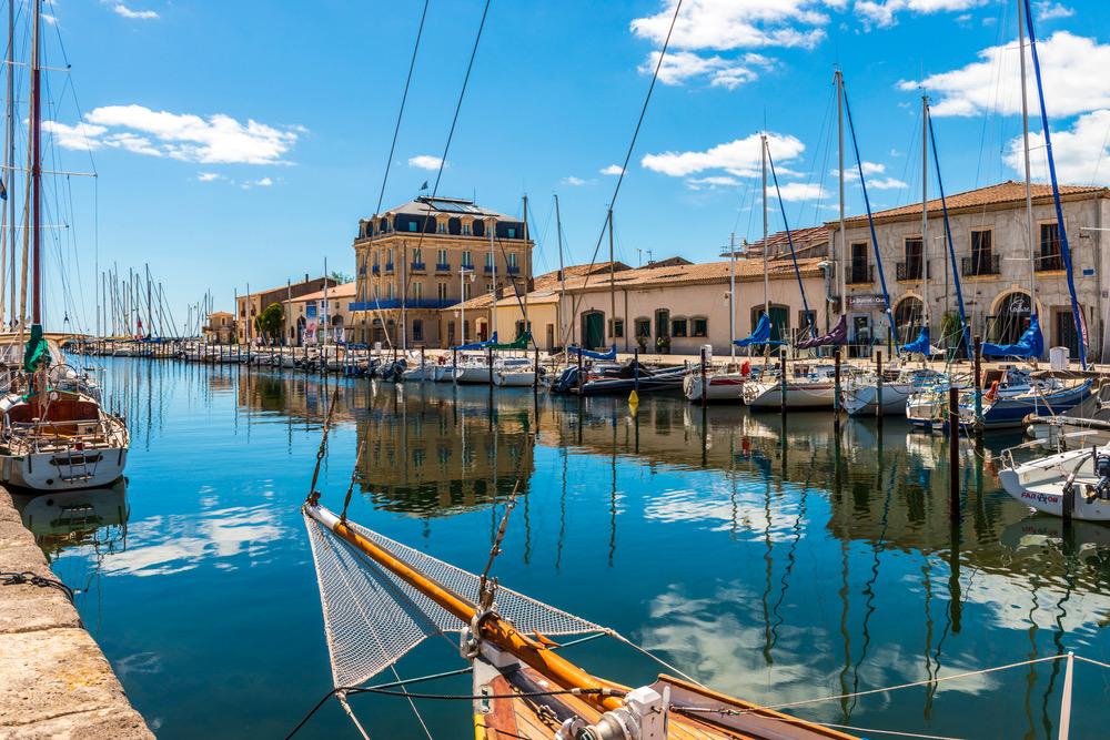 Marseillan hamnen