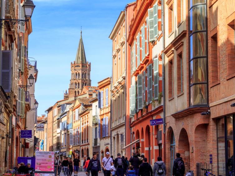 Toulouse, den rosa staden