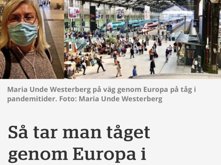 I Vagabond om att resa i Europa
