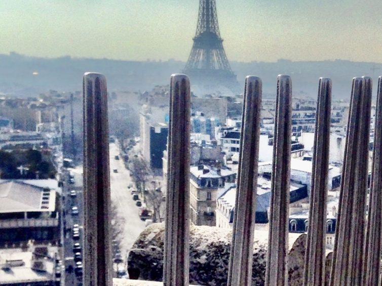 Stopp i Paris med alla sinnen