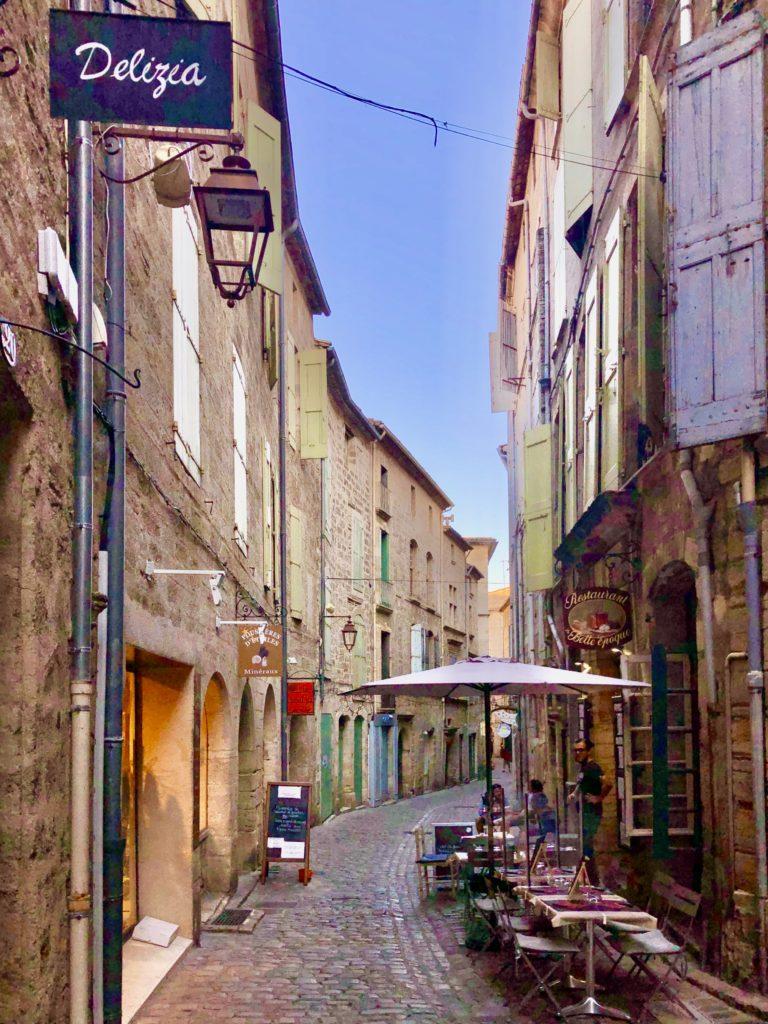 Rue de la Foire Pézenas foto Maria Unde Westerberg