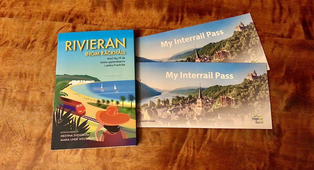 Rivieranboken på köpet med Interrailpass