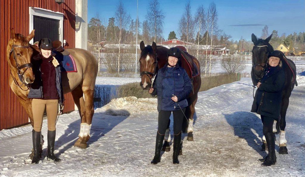 Ridhelg på Wirsbo med Cissi, Ann-Sofie och Maria