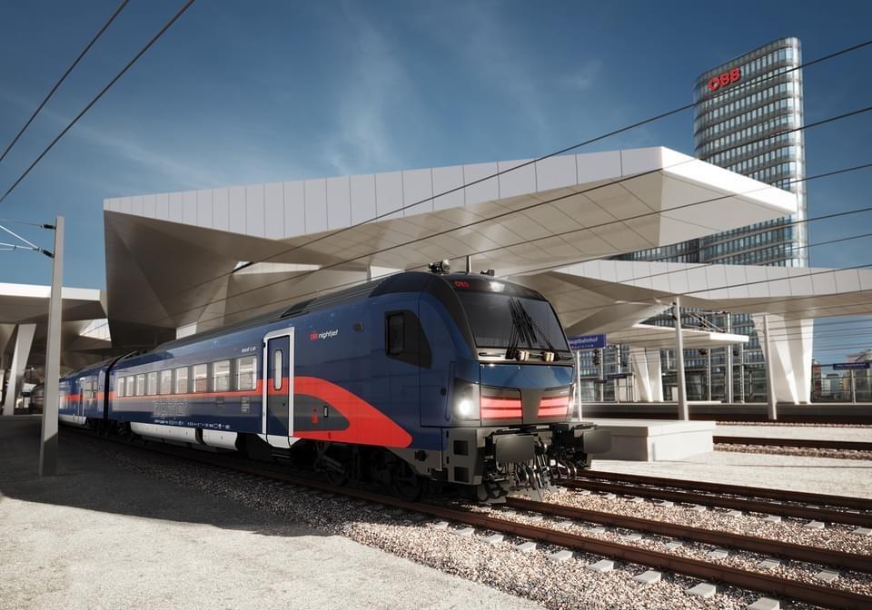 ÖBBs nya nattåg lok