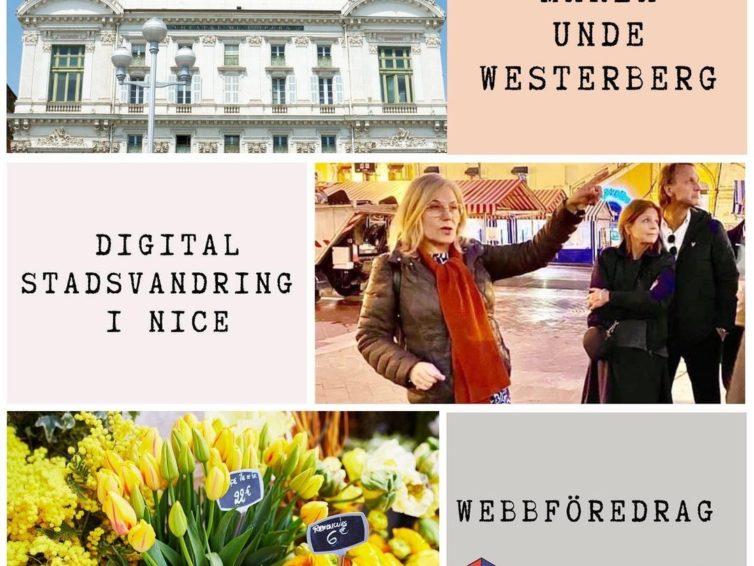 Digital stadsvandring i Nice med Maria