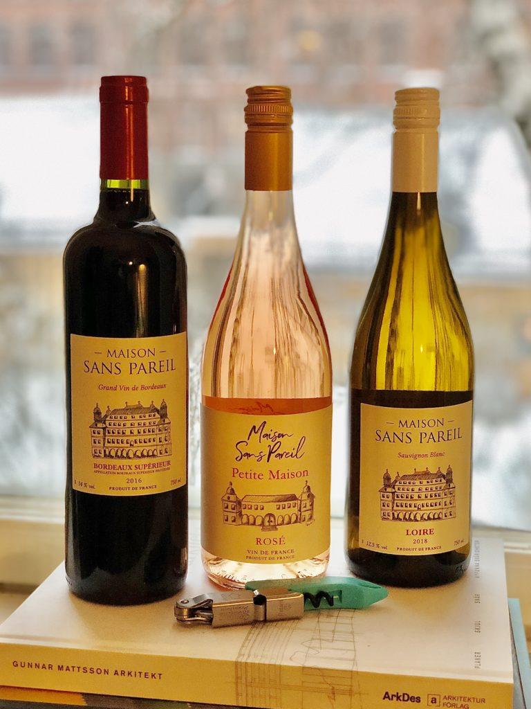 Goda viner från Maison Sans Pareil och Gastrodev